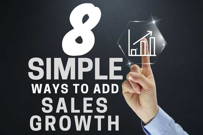 Eight Simple Ways To Add Sales Growth To Your Salt Lake County Business