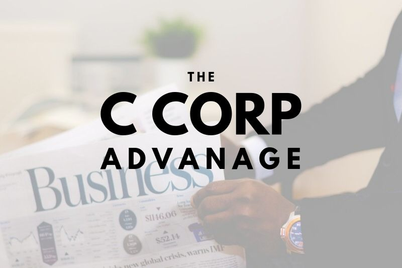 The Advantage a C Corporation Holds for Salt Lake County Businesses