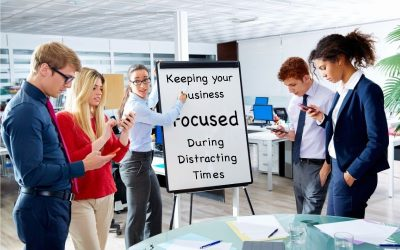 Keeping Your Salt Lake County Business Focused During Distracting Times